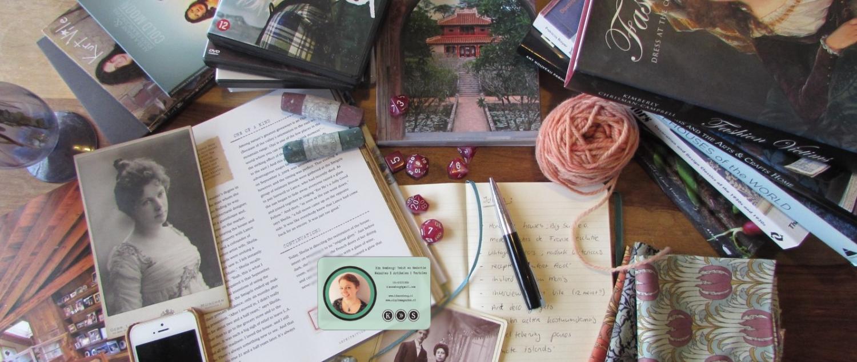 Kim Somberg: Tekst en Redactie tekstschrijver tafel