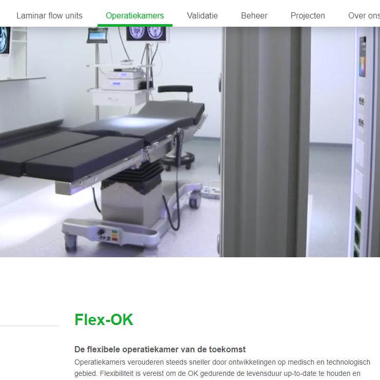 Flex-OK website Interflow