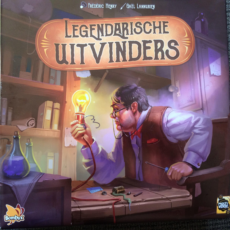 Legendarische Uitvinders vierkant
