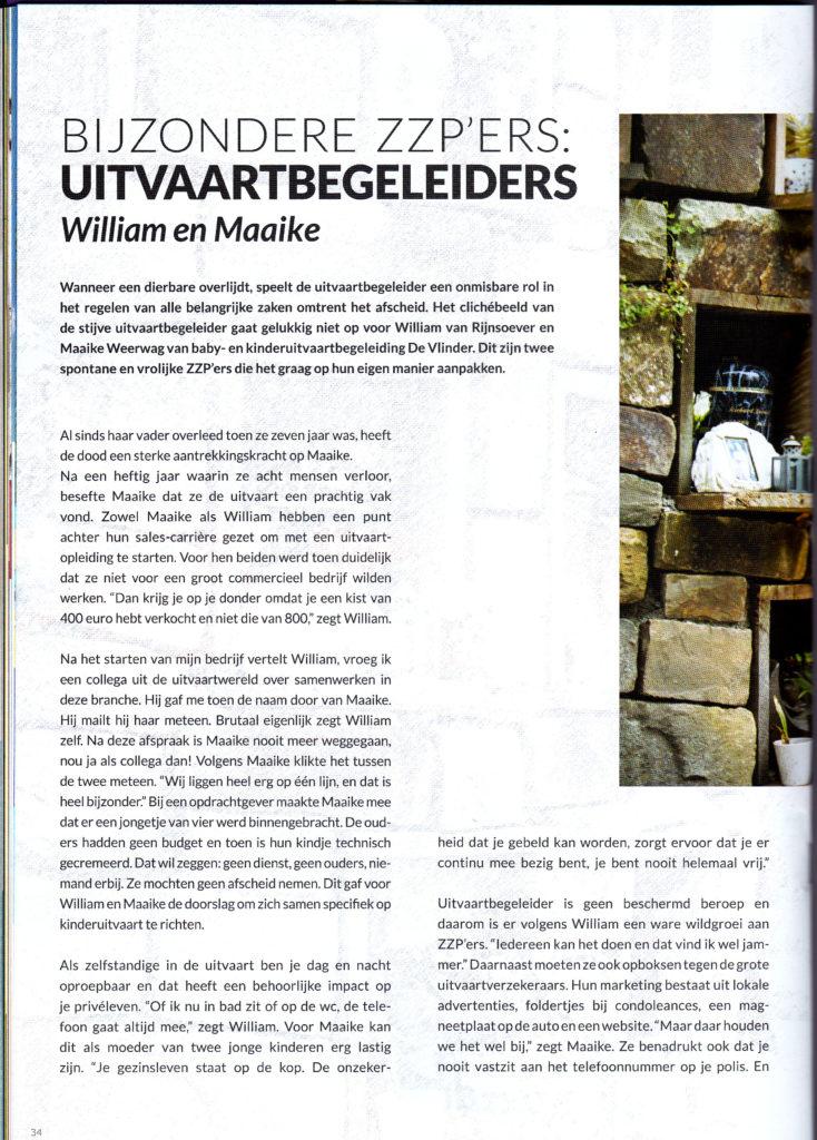ZTalks Magazine Interview uitvaartbegeleiders tekst artikelen