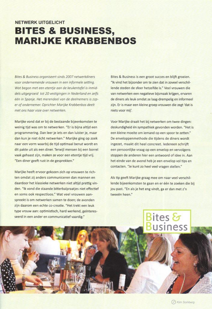 ZTalks Magazine interview Marijke tekst
