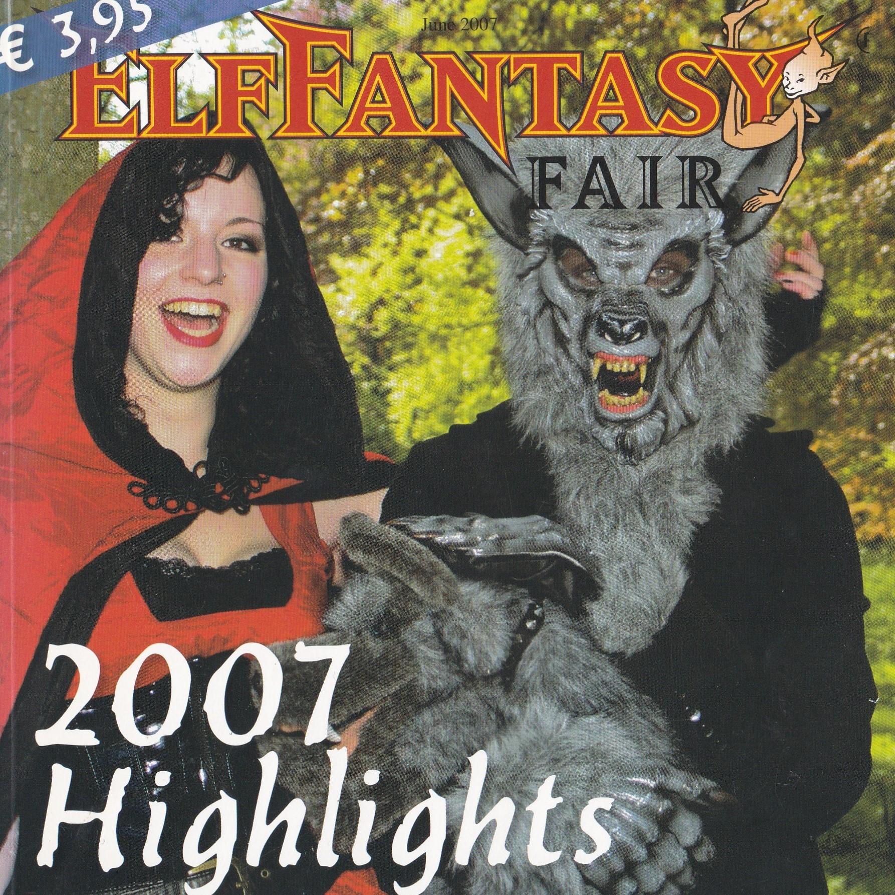 booklet Elf Fantasy Fair 2007 front vierkant artikelen