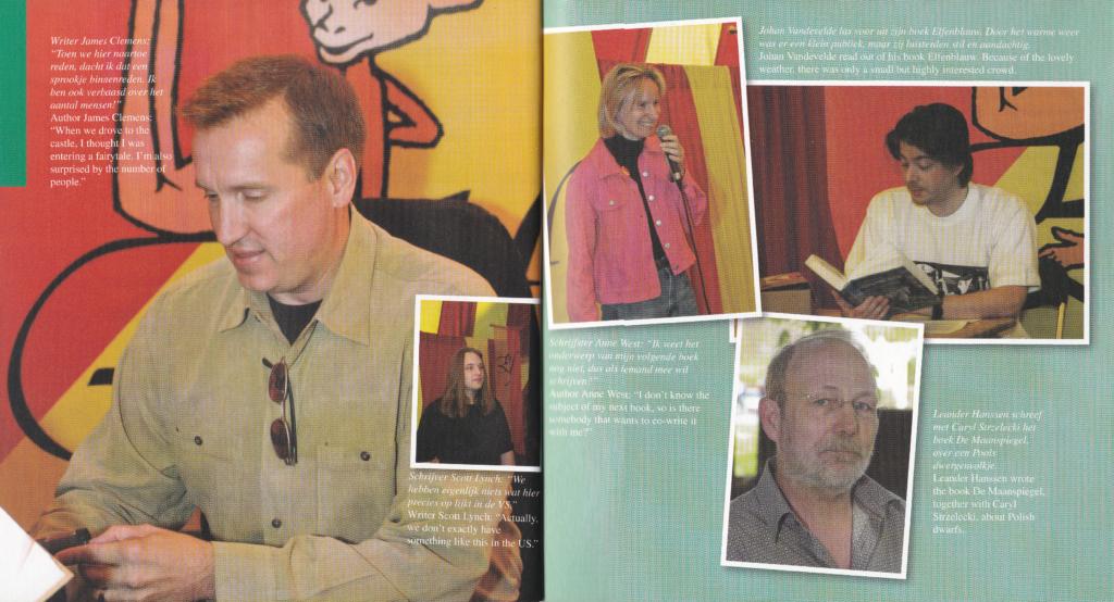 booklet Elf Fantasy Fair 2007 inside interviews