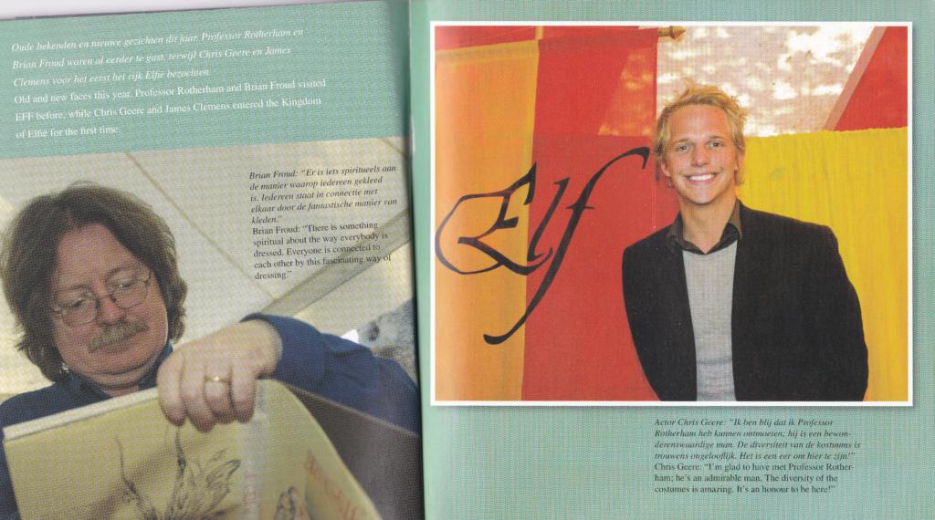 booklet Elf Fantasy Fair 2007 pages interviews