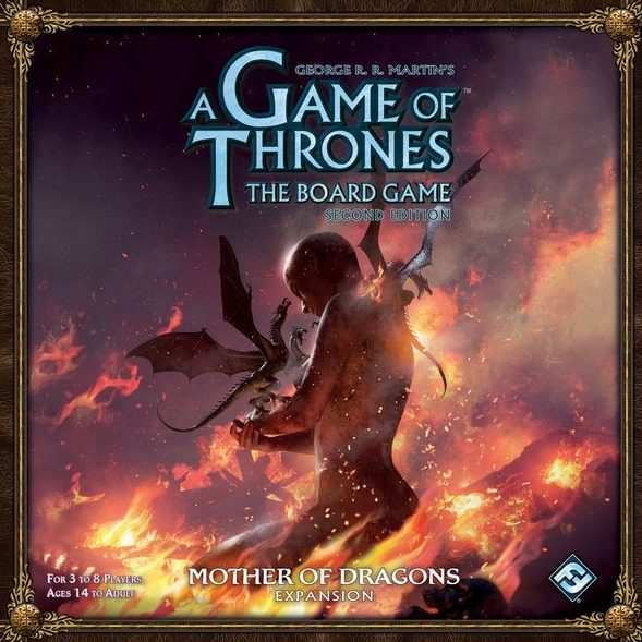 Game of Thrones Mother of Dragons doos vierkant vertalingen