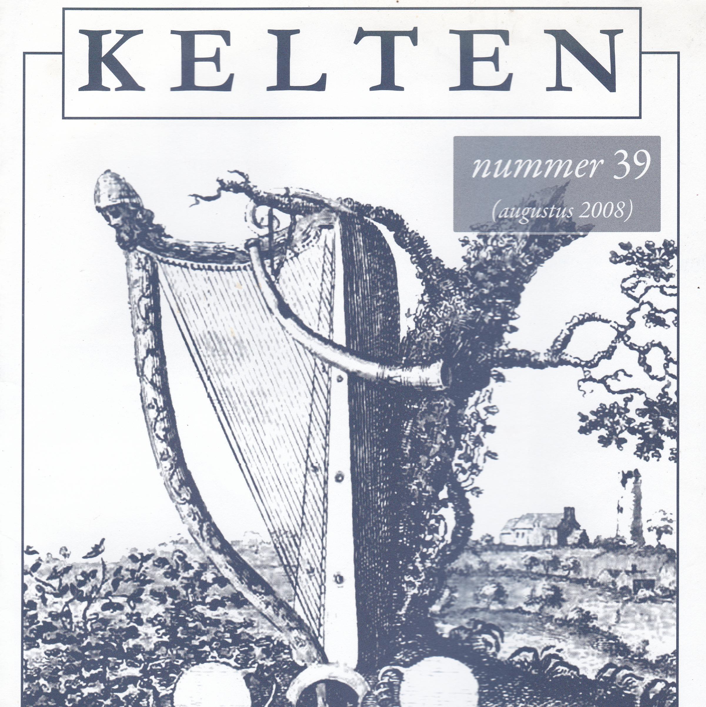 wetenschappelijk tijdschrift Kelten nummer 39 vierkant artikelen