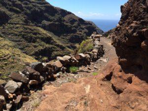 La Gomera walking path GR132