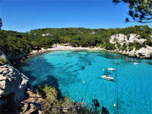 Menorca beach Cala Macarella bay