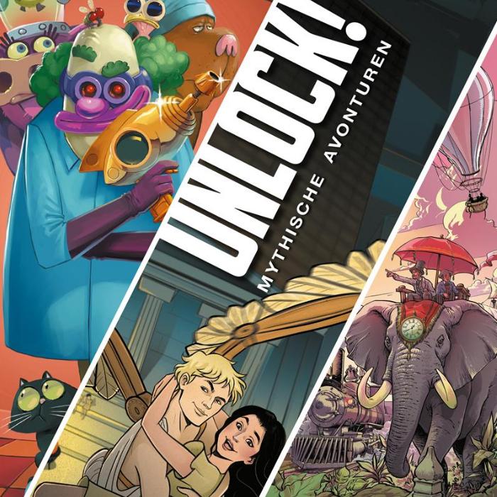 Unlock! Mythische Avonturen Nederlandse vertaling Kim Somberg